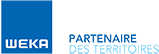 Logo Éditions Weka Partenaire des territoires