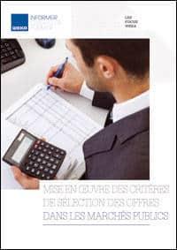 Mise en œuvre des critères de sélection des offres dans les marchés publics