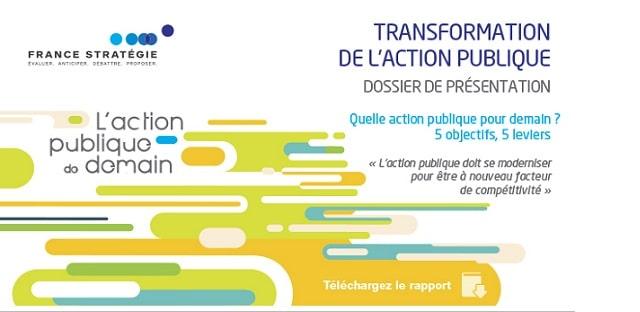 Quelle action publique pour demain ? 5 objectifs, 5 leviers