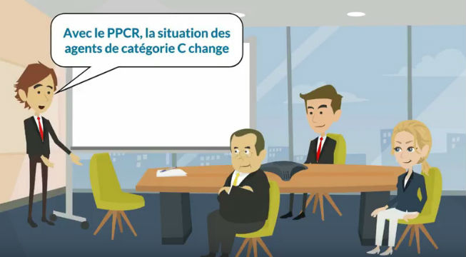 Agents de cat gorie c le ppcr change vos carri res - Grille indiciaire fonction publique territoriale categorie c ...