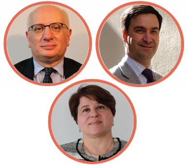 Philippe LAURENT, Jean-Robert MASSIMI et Elisabeth SHEMTOV