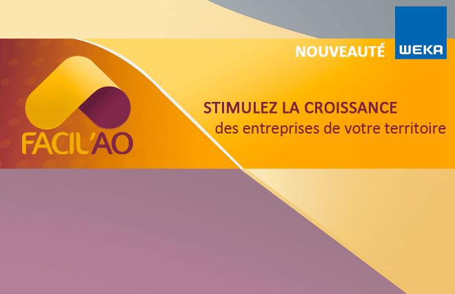 Facil'AO, solution innovante de référence du développement économique local