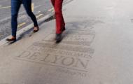 Bordeaux s'oppose à la publicité éphémère sur les trottoirs de son centre