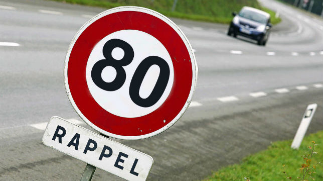 Vitesse à 80 km/h : 28 départements demandent au gouvernement de renoncer