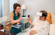 À Lille, un cocon de réalité virtuelle pour soigner les troubles cognitifs