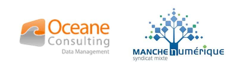 Logos Oceane Consulting et Manche Numérique