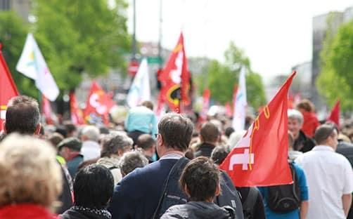 """""""Malmenés"""", les fonctionnaires défendent leur statut et les services publics"""