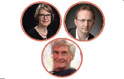 Intervenants Aline Ridet, Rémi Delekta et Hugues Perinel