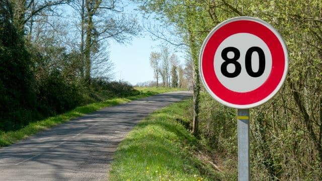 Le Conseil d'État refuse de suspendre le décret réduisant la vitesse à 80 km/h