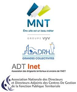 MNT, ADT-INET, DRH des grandes collectivités et ANDCDG