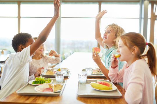Cantine à l'école : la recette des enfants pour savourer ce moment
