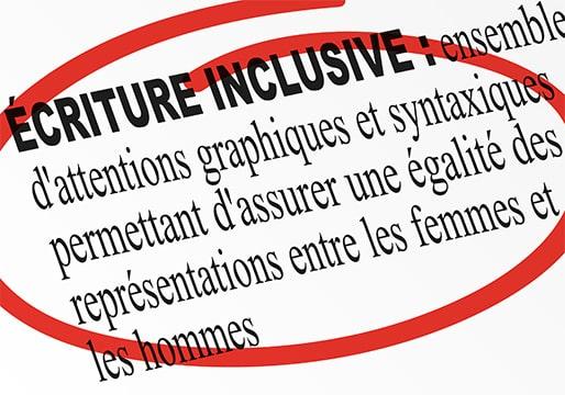 L'écriture inclusive reste bannie des textes officiels