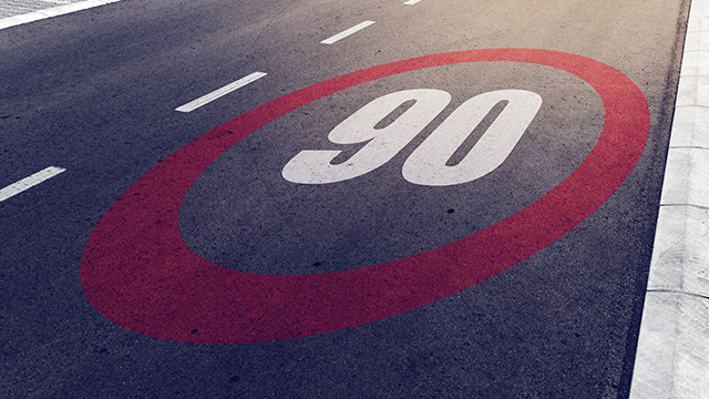La Haute-Marne, 1er département à voter le retour aux 90 km/h