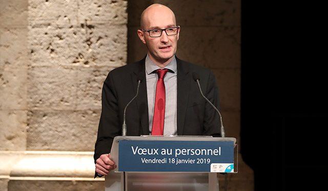 Sylvain Heurtebise Directeur général des services de la Ville de Blois