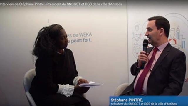 Interview de Stéphane Pintre, Président du SNDGCT et DGS de la ville d'Antibes