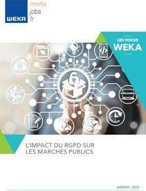L'impact du RGPD sur les marchés publics