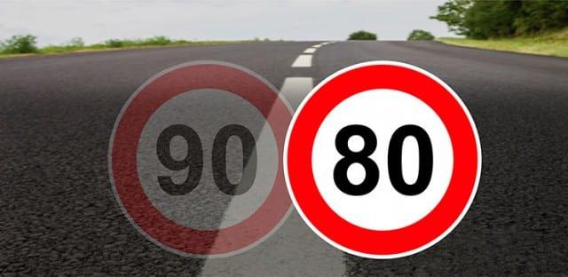 La loi d'orientation des mobilités porte décentralisation de la décision d'augmentation des vitesses maximales autorisées à 90 km/h