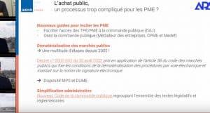 Marchés publics : l'ouverture aux PME ? Bilan 2019 et perspectives 2020