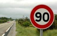 Routes : Corrèze et Cantal repassent à 90 km/h