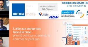 L'aide aux entreprises face à la crise : priorité politique et droit de la commande publique