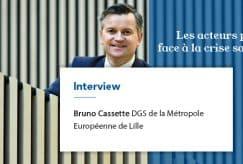 Bruno Cassette, DGS de la MEL :
