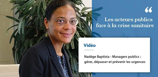 Nadège Baptista, Directrice Générale Adjointe Aménagement Territorial, Habitat, Grands Projets à la Métropole du Grand Paris