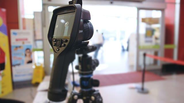 """Collecte """"sans consentement"""" : les caméras thermiques attaquées au Conseil d'État"""