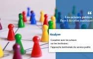 Coopérer avec les acteurs sur les territoires : l'approche territoriale du service public