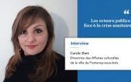 Carole Ziem est directrice des Affaires culturelles de la ville de Fontenay-sous-bois, Présidente de l'Association des Directrices et Directeurs des Affaires culturelles d'Île-de-France (ADAC IDF) et Vice-présidente de la FNADAC