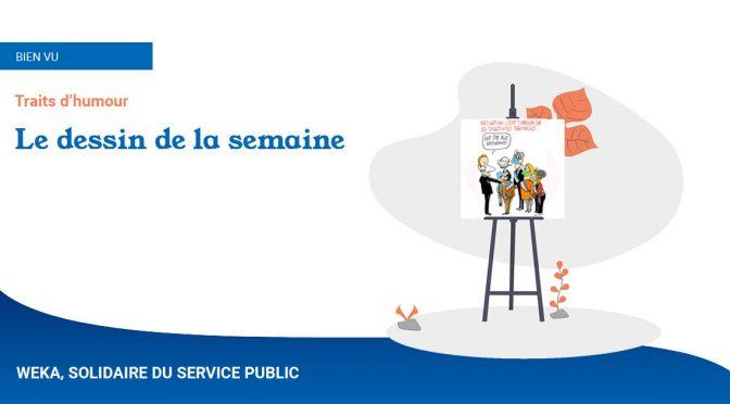 Le dessin de la semaine : Vaccination : l'État s'appuiera sur les collectivités territoriales