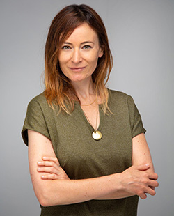 Juliette Pernel, coach
