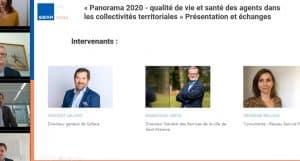 « Panorama 2020 - Qualité de vie et santé des agents dans les collectivités territoriales » présentation et échanges