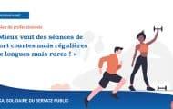 """Pierre Moitry, kinésithérapeute : """"Mieux vaut des séances de sport courtes mais régulières que longues mais rares !"""""""