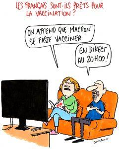 Le dessin de la semaine : les Français sont-ils prêts pour la vaccination ?