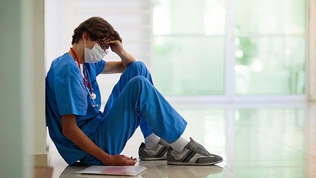 La crise sanitaire affecte la santé psychologique des professionnels hospitaliers