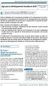 Agir pour le développement durable en ALSH