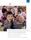 Dispositif d'éveil culturel de la petite enfance : de la conception à la mise en œuvre
