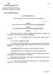 Avant-projet de loi relatif à la déontologie et aux droits et obligations des fonctionnaires