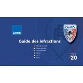 Guide des infractions ─ Édition 2020