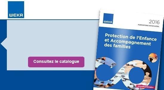 Catalogue Protection de l'enfance et accompagnement des familles